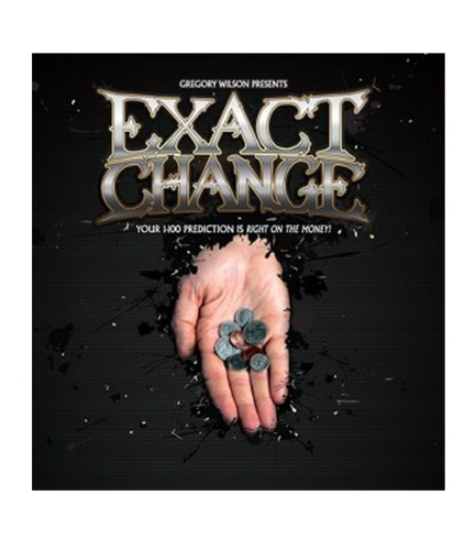 익스엣 체인지      Exact Change by (DVD and Gimmick)