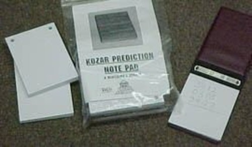 Kozar Prediction Pad